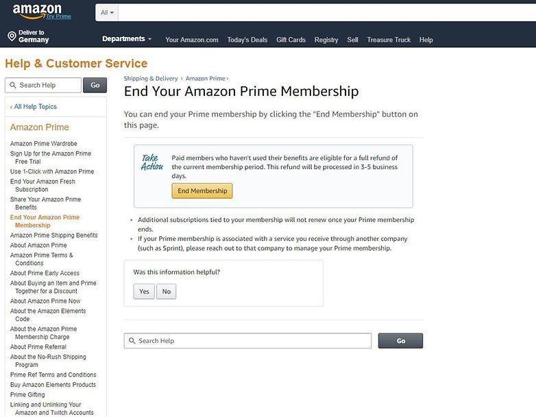 How To Cancel Your Amazon Prime Membership Amazon Prime