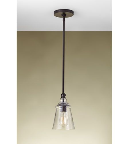 feiss p1261orb urban renewal 1 light 6 inch oil rubbed bronze mini pendant ceiling light in standard