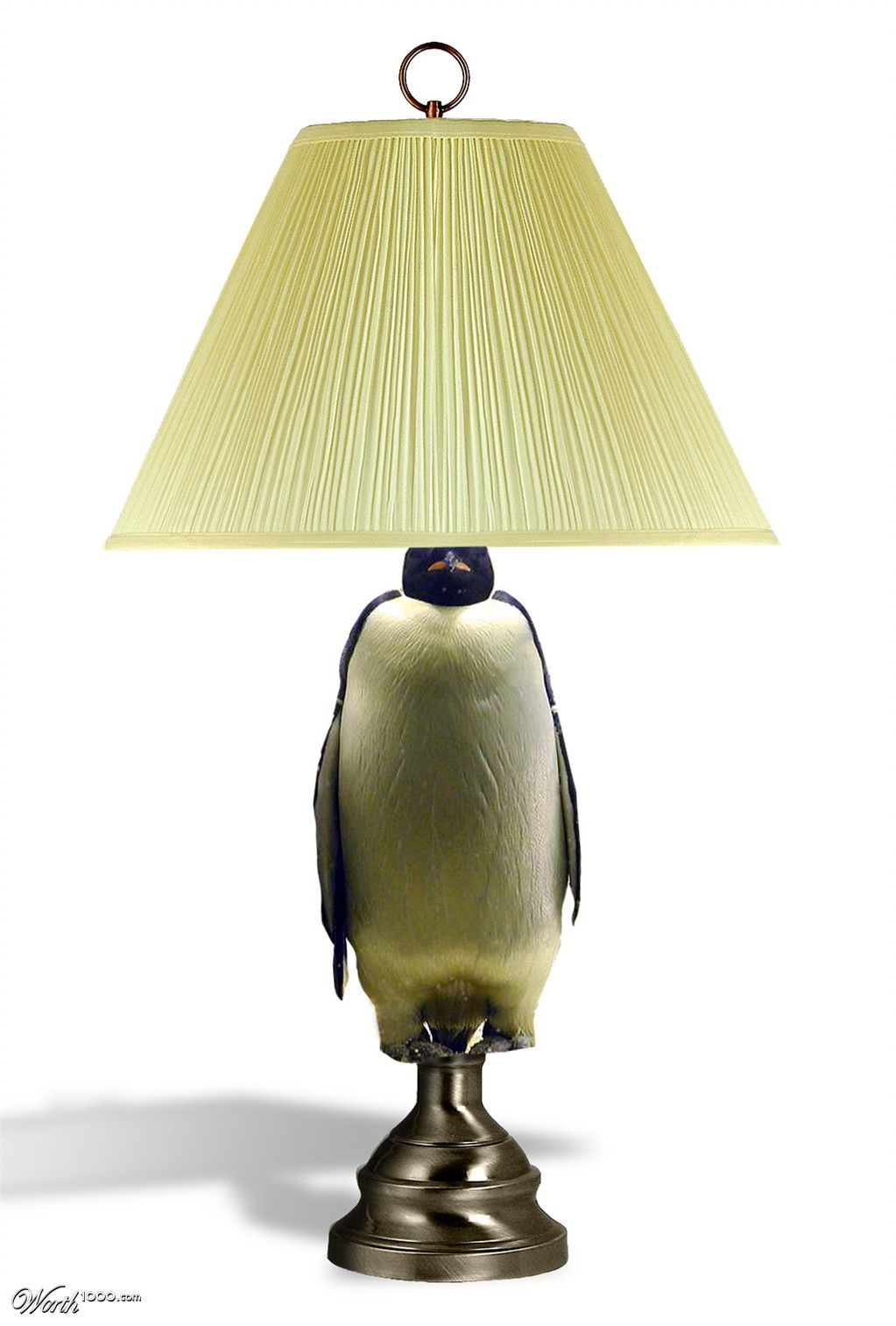 Penguin Lamp   Worth1000 Contests