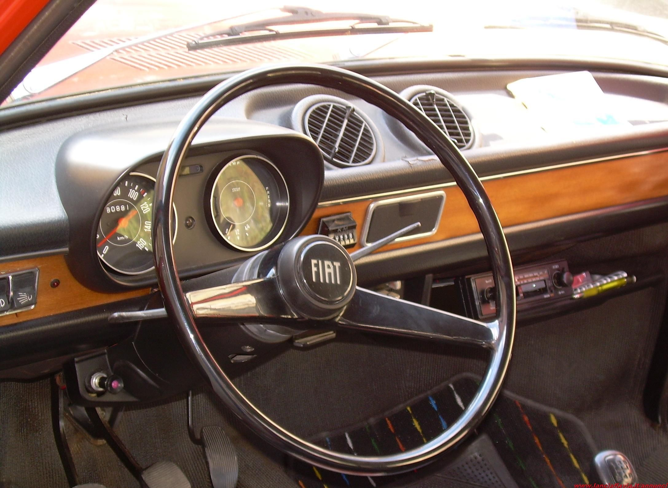 Car interior maintenance - Fiat 127 1972 Maintenance Of Old Vehicles The Material For New Cogs Casters Car Interiorsfiat