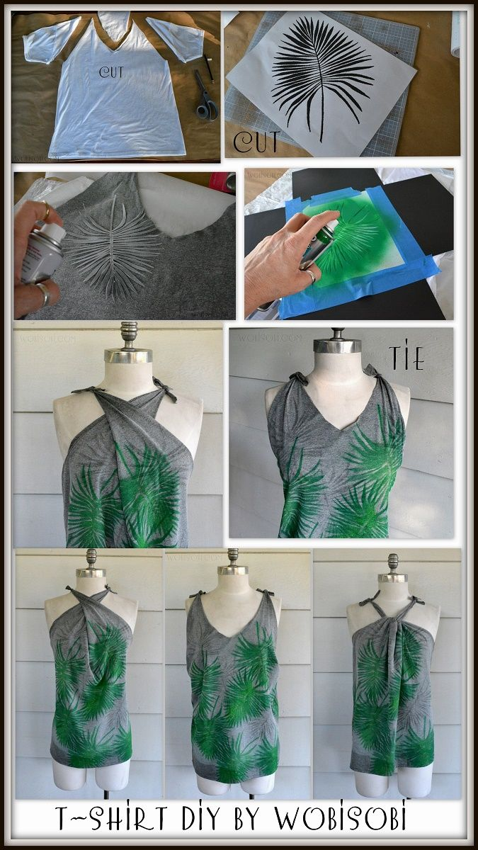 No-Sew Multi-way, Summer Tank: DIY