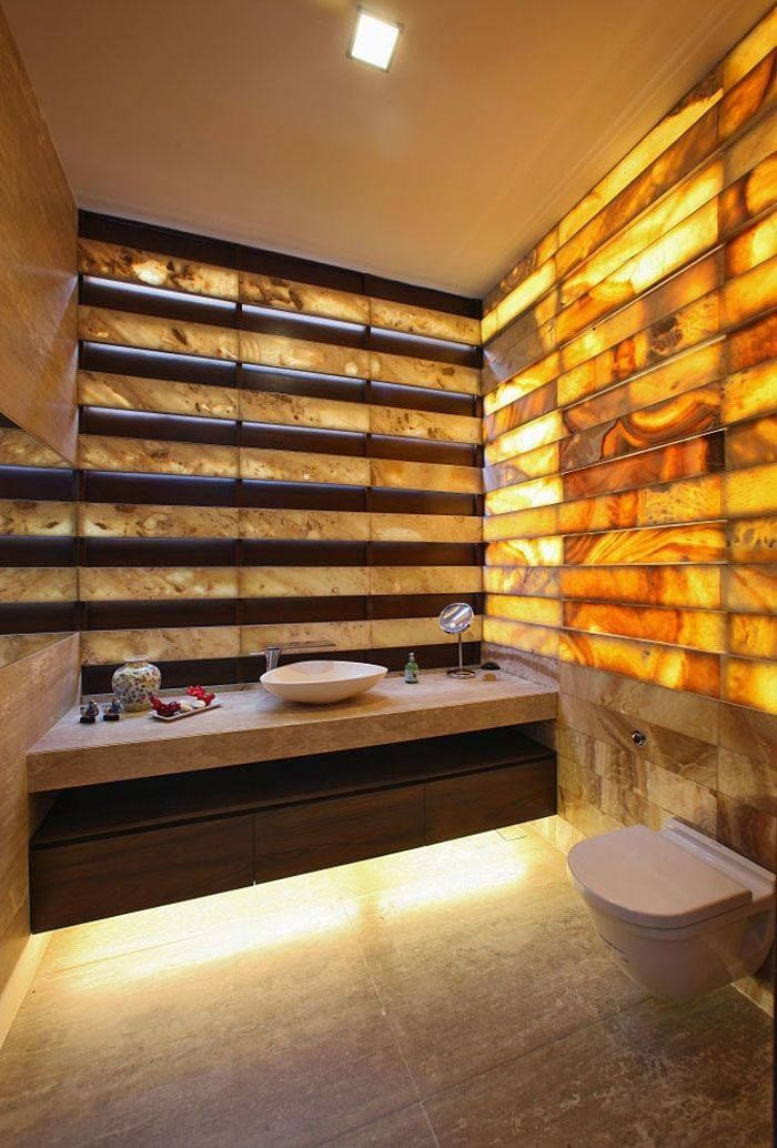 traitement de pierre, bois, béton ciré dans une salle de bain ...