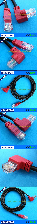l shape rj45 patch cable l shape ethernet cable cat5 patch cord ...