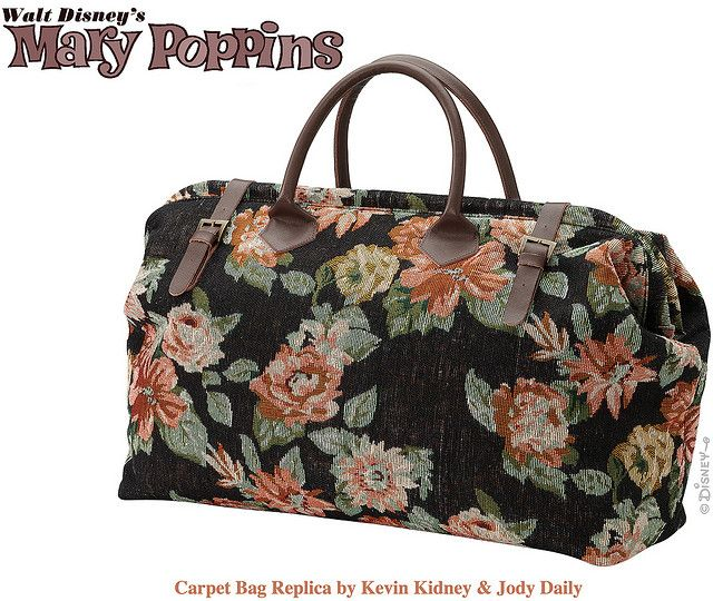 Mary Poppins Carpet Bag | Bolsos, Bolsos cartera, Carteras