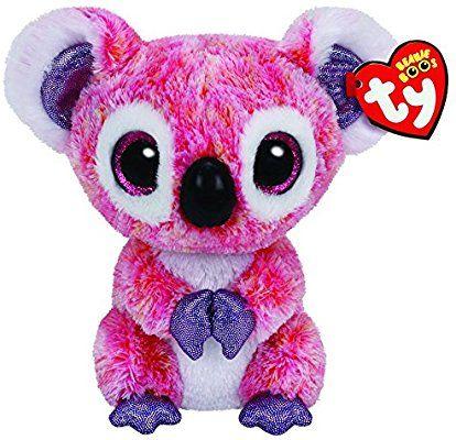 522cdffa956 Amazon.com  Ty Beanie Boos Kacey The Pink Koala Plush  Toys   Games ...
