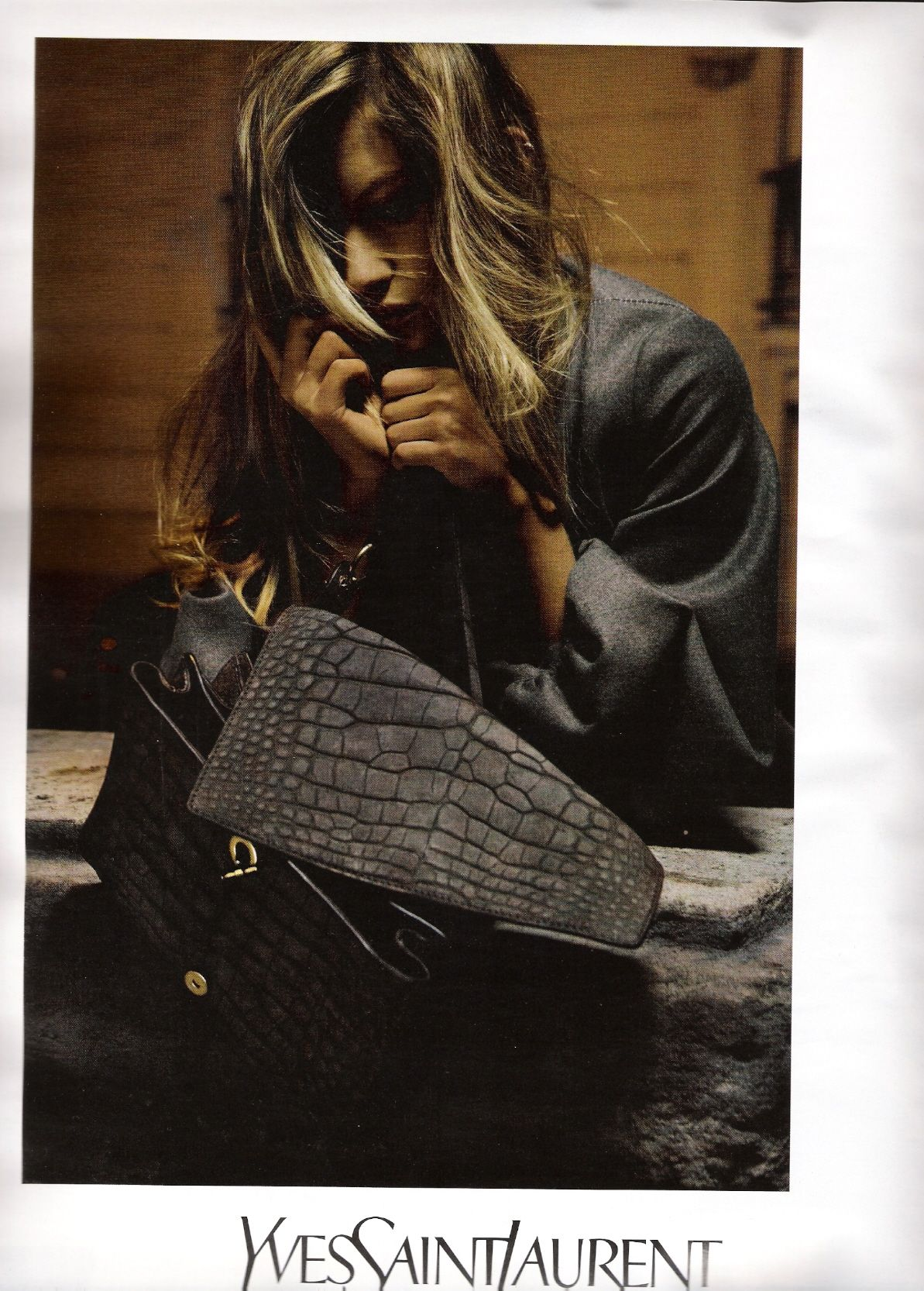 f3799067 Gisele Bundchen for YSL Fall/Winter 2007-2008 | Glossies | Gisele ...