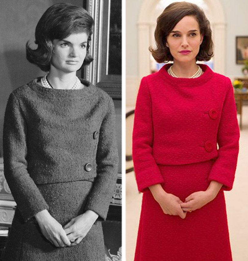 Here S The First Look At Natalie Portman As Jacqueline Kennedy In Jackie Toofab Com Projekte
