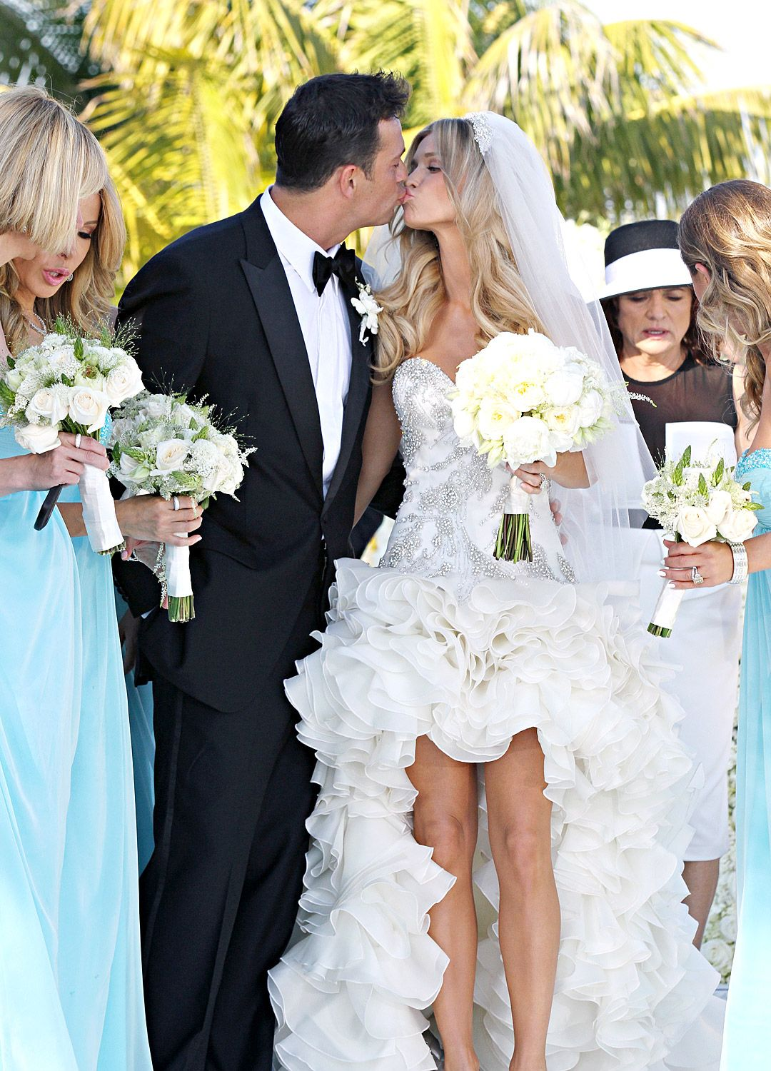 The Popular Style of the Celebrity Wedding Dresses : Celebrity ...