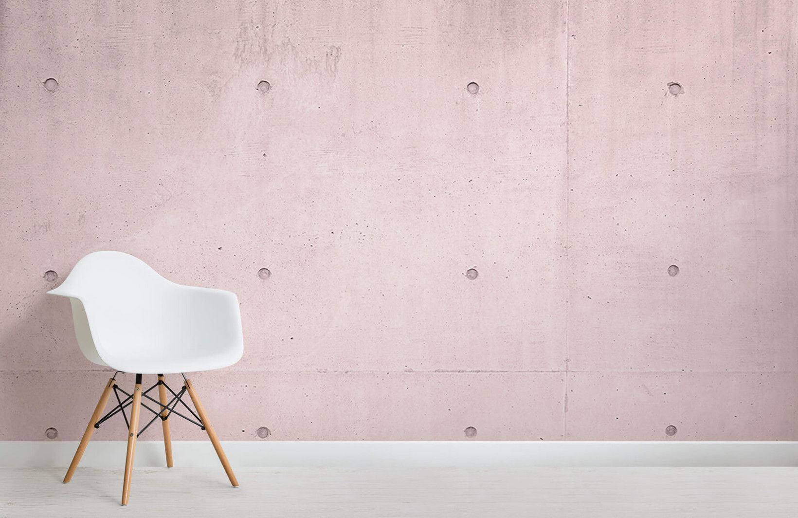 Pink Modern Concrete Block Room Interiorarchitecture Rustic Living Room Furniture Brick Wallpaper Mural Concrete Block Walls