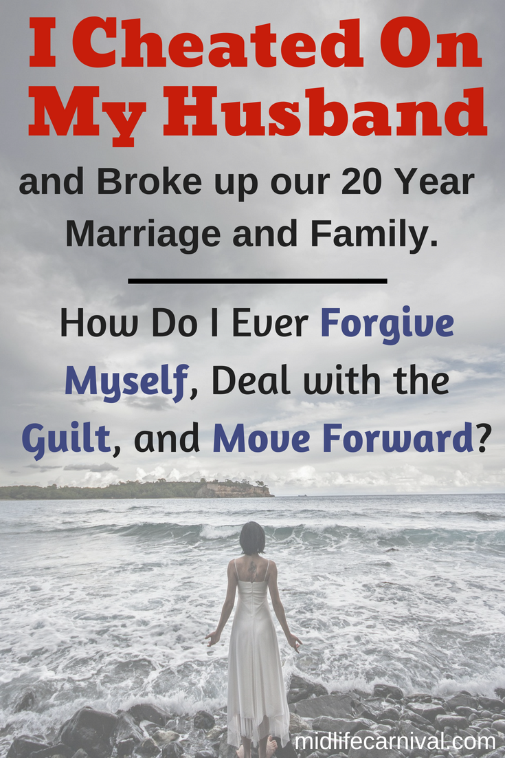 How to forgive yourself for infidelity