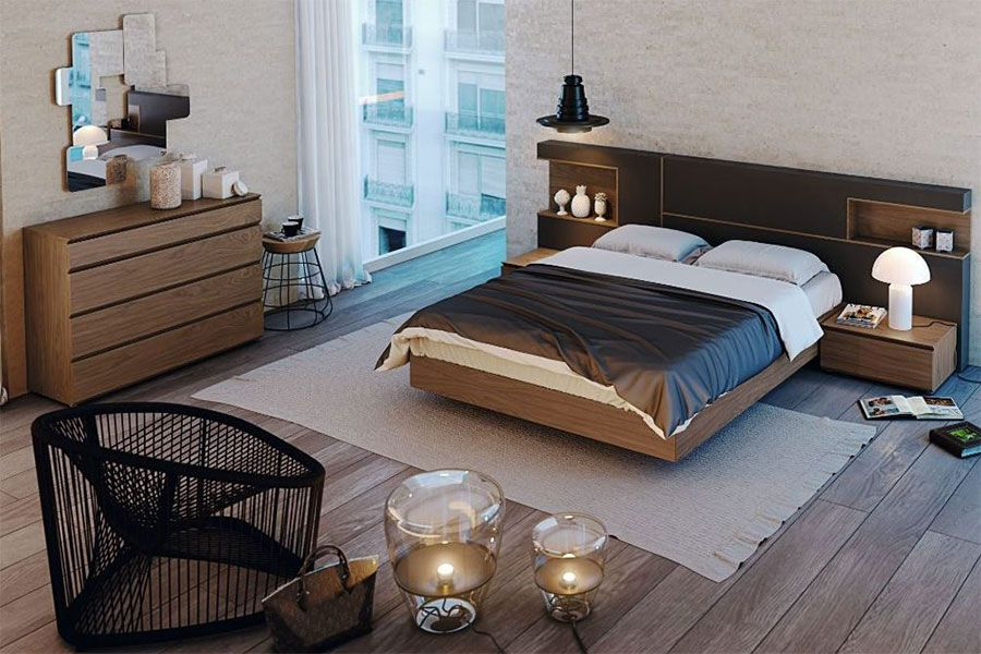 BEDROOM Modern Bed Collection Modern Bed GS QUARTA