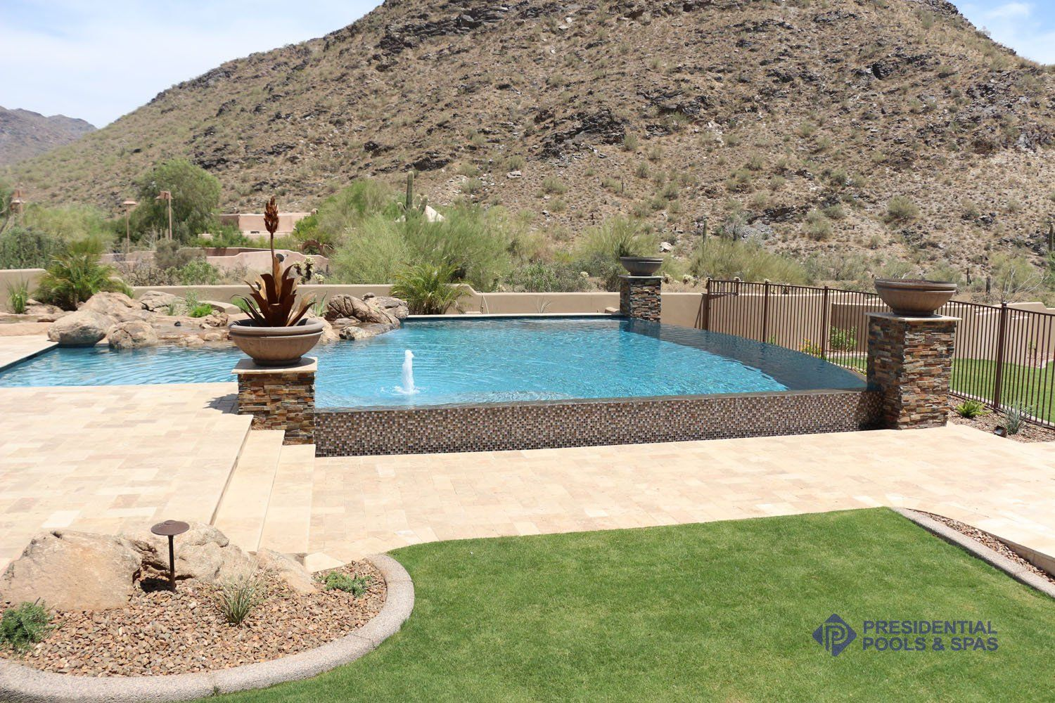 presidential pools in the desert pinterest backyard and