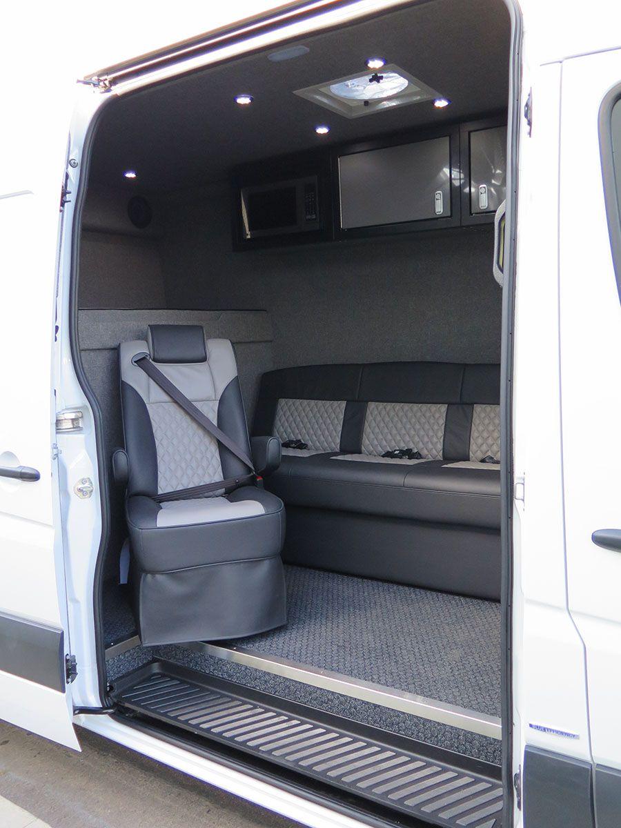 Mx Van Conversions El Kapitan In 2020 Custom Van Interior Van