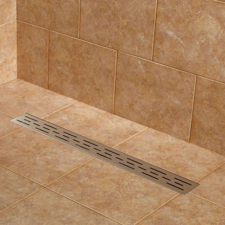 Effendi Linear Shower Drain   Water supply, Shower drain and Drain