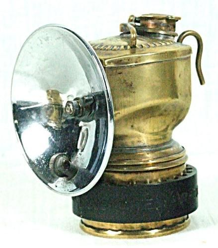 Old Justrite Miners Carbide Lamp Ebay Lamp Ebay Old Things