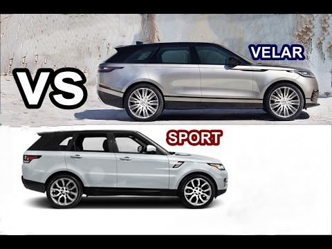 2017 range rover velar vs 2017 range rover sport pinterest range rovers. Black Bedroom Furniture Sets. Home Design Ideas