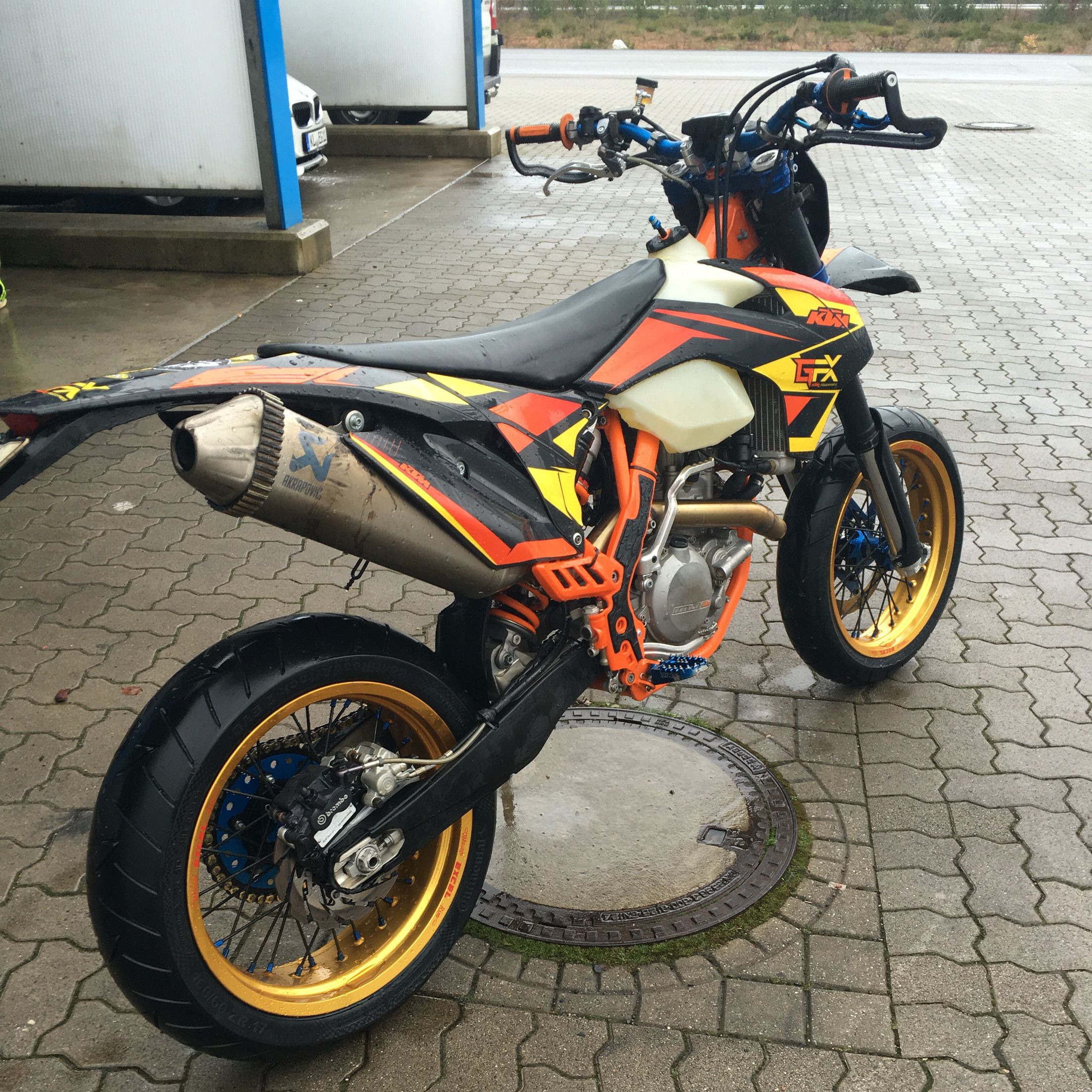 Supermoto ktm 690 stunt concept bikemotorcycletuned car tuning car - My Ktm Exc Supermoto Build