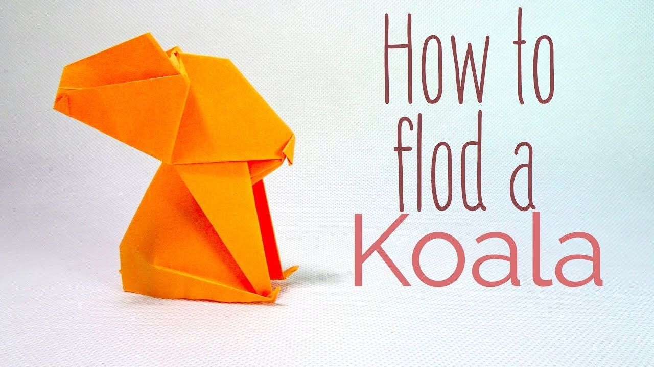 Origami easy cute koala tutorial anh dao origami pinterest origami easy cute koala tutorial jeuxipadfo Choice Image