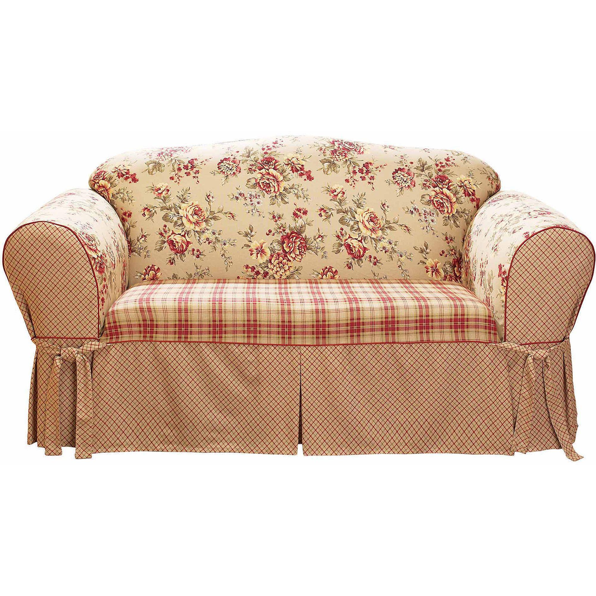 Sure Fit Lexington Wing Chair Slipcover, MultiColor