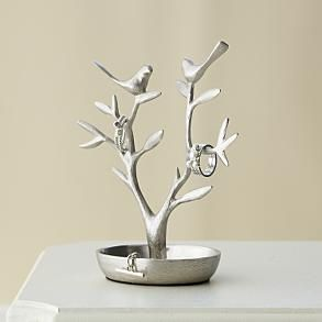 Jewelry Catchall Birds Tree Jewelry Holder Engagement Ring Holders Ring Holder Diy
