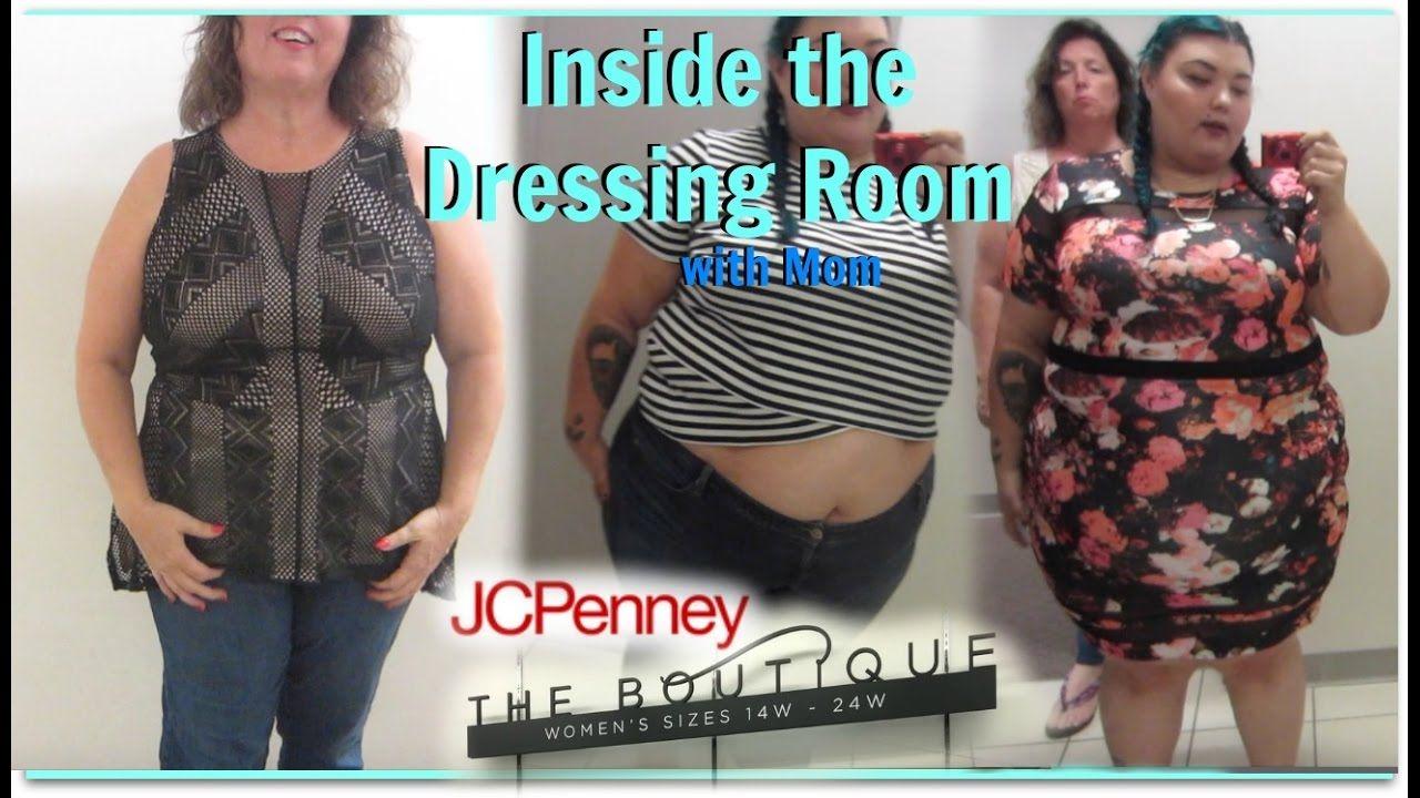 Authoritative mom dressing room changing