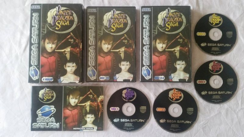 Panzer Dragoon Saga PAL  #retrogaming #HotSS  #saturnday Complete in very good condition. Auction from France.