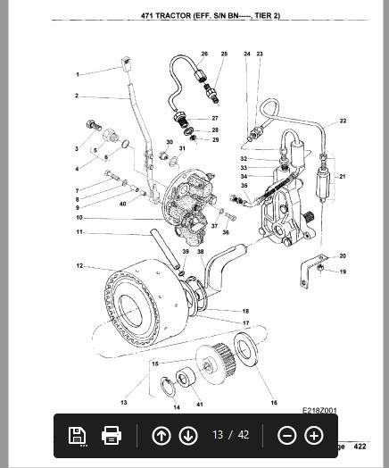 Massey Ferguson Mf 471 T2 Tractor Parts Manual Pdf Download Tractor Parts Tractors Massey Ferguson