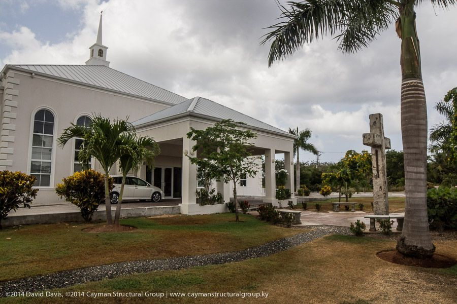 Check out the amazing new building that cayman structural group completed for cayman islands baptist church
