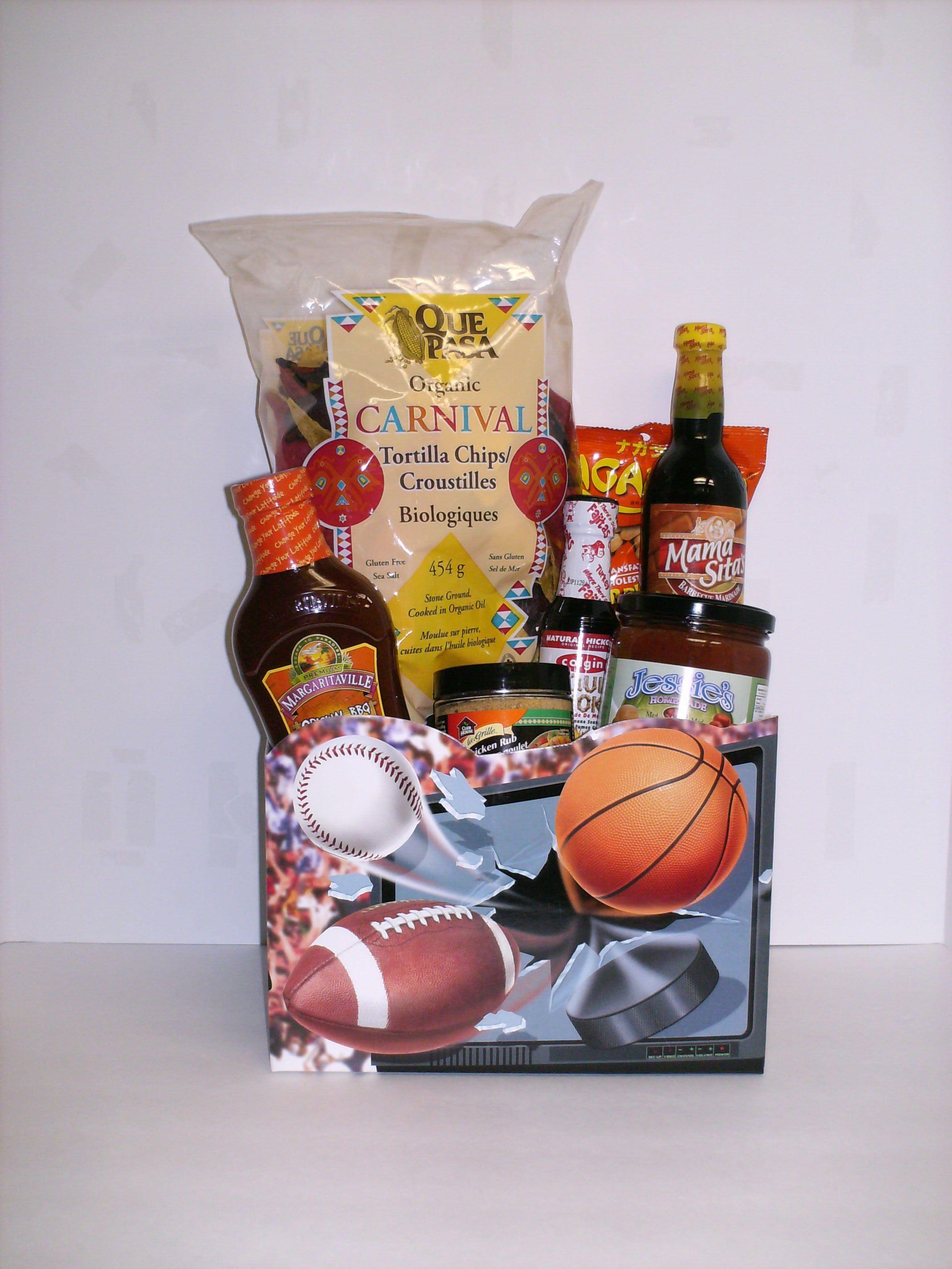 Backyard bbq fathers day gift basket gifts
