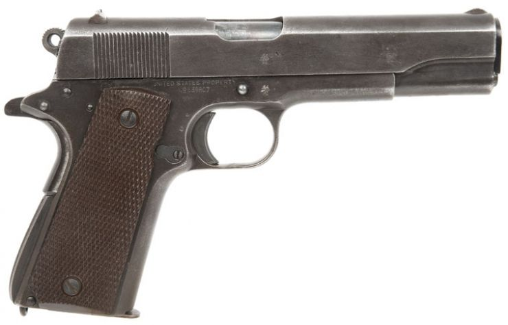 Image detail for -Deactivated WWII Remington Rand Colt 1911