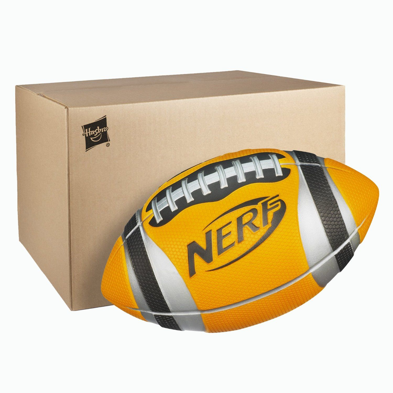 Nerf N Sports Pro Grip Football Orange See more at toy