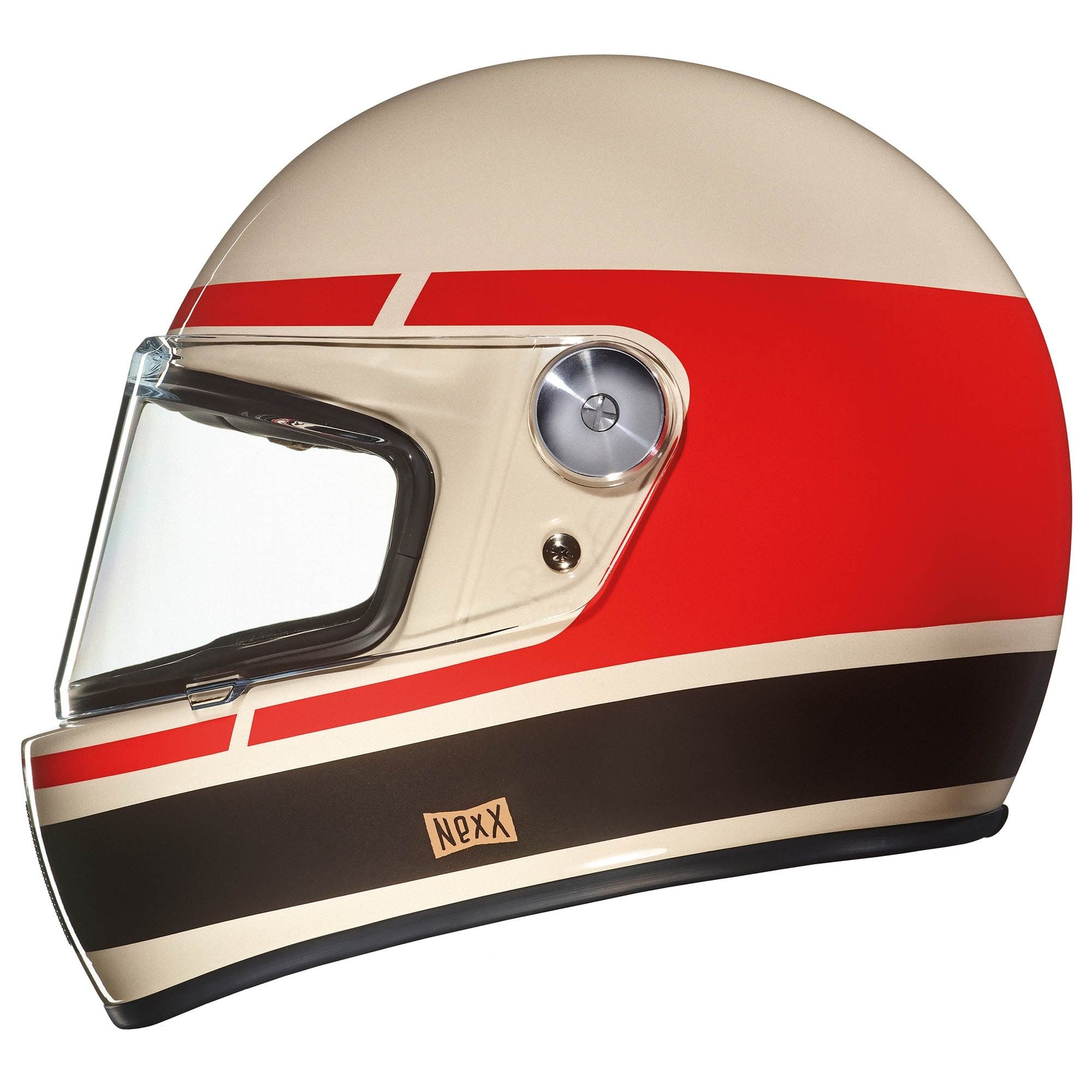 Vintage And Retro Looking Helmets Are A Dime A Dozen These Days But The New Nexx Xg100r Is A Class Apart Whic Vintage Helmet Retro Helmet Cafe Racer Helmet