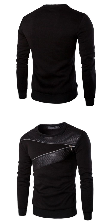 2018 New Men S Hedging T Shirt Korean Chain Then Stitching Fashion