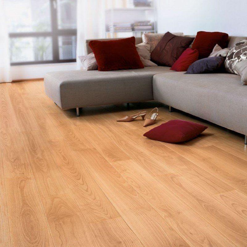 Quickstep Varnished Beech Laminate Flooring Wooden