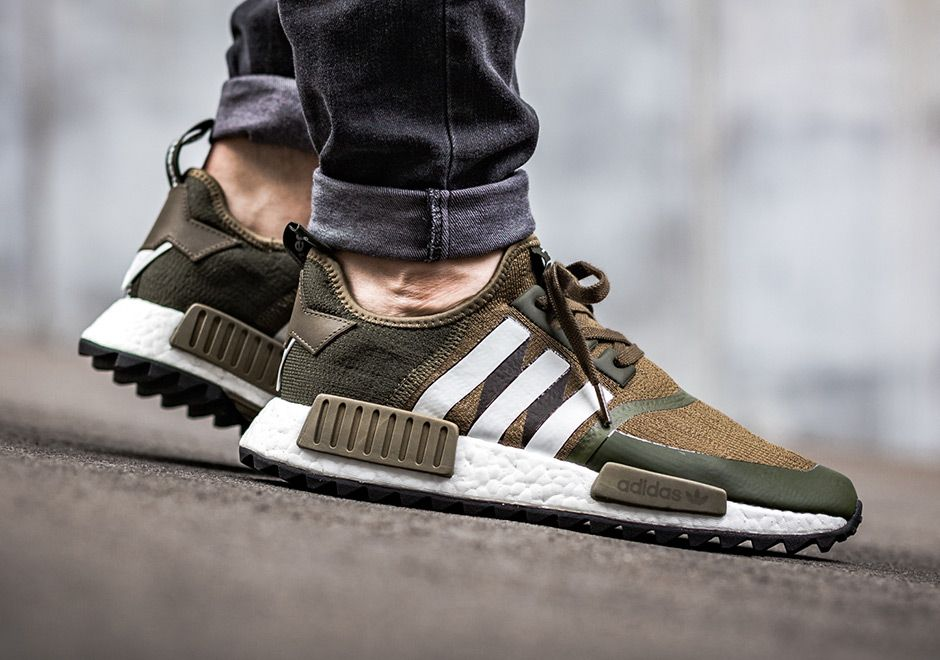 best website c6b6a f118b sneakers news On-Feet Look At The White Mountaineering x adidas NMD  Collection Coming This Weekend