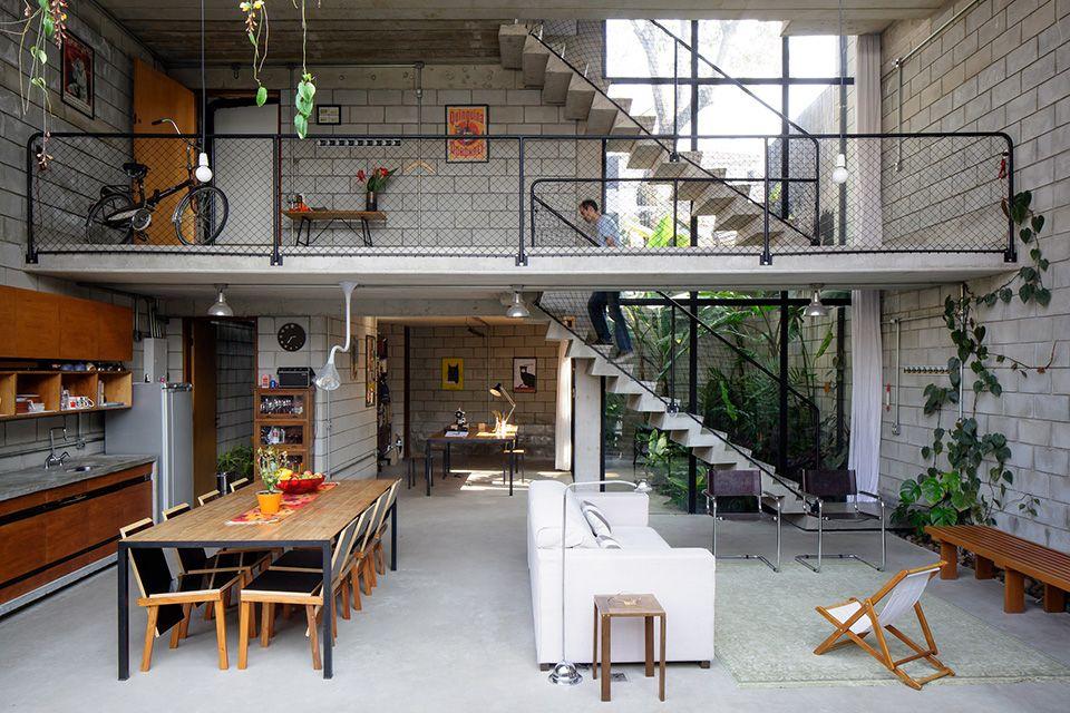 Maracana House House Design Loft Design Home