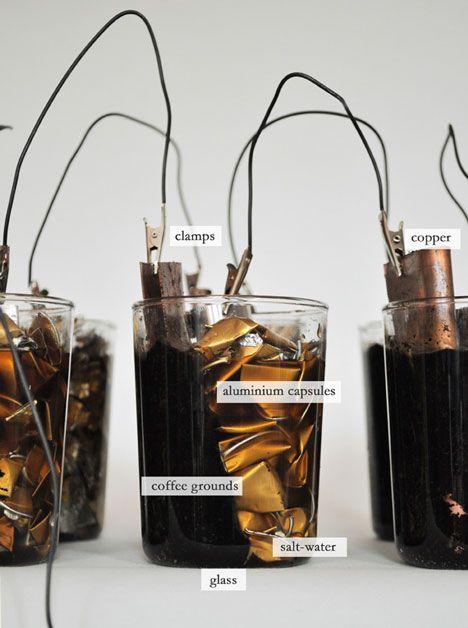 DIY coffee batteries...