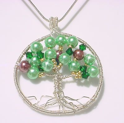 Wire tree of life pendant tutorial jewellery ideas pinterest wire tree of life pendant tutorial mozeypictures Image collections