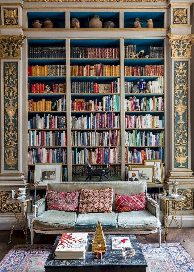 58 Stunning Library Room Design Ideas With Eclectic Decor  Page 54 of 58  58 Stunning Library Room Design Ideas With Eclectic Decor  Page 54 of 58