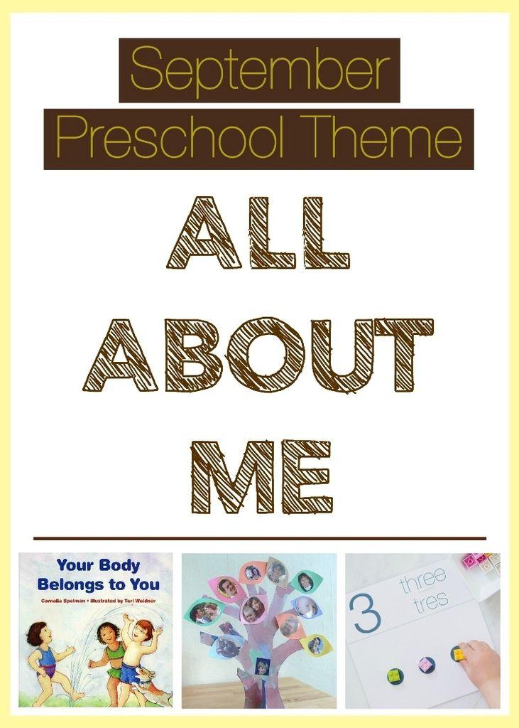 September Preschool Theme Kids Family Home September