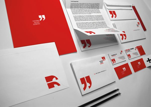 Katona József Theatre by Botond Vörös Referências Pinterest - Branding Quotation