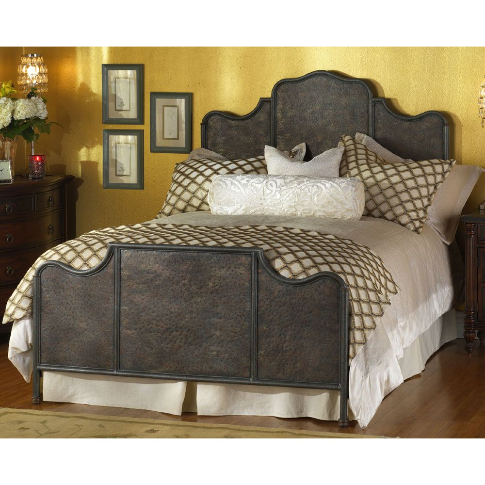 bedsbrookshire olinde threshold bed products trim sleigh item wesley iron brookshire height width s allen beds