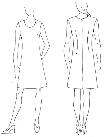 Jerseykleid schnittmuster kostenlos – Modische Kleider beliebt in ...