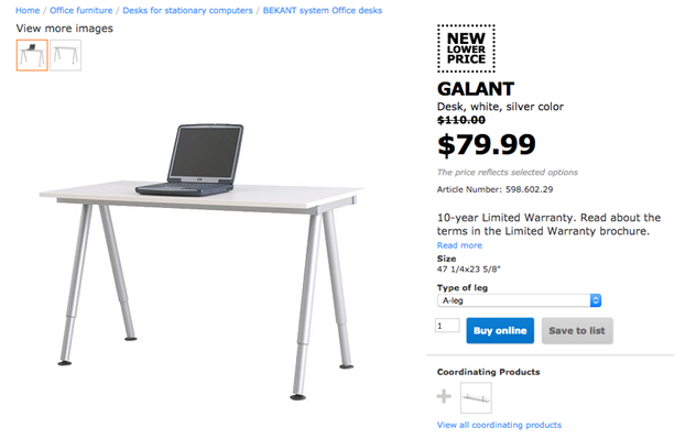 What To Buy At Ikea For Drawing On A Wacom Cintiq 22 Hd Us Furniture And Home Furnishings Ikea Galant In 2020 Ikea Galant Ikea Galant Desk Home Office Furniture Desk