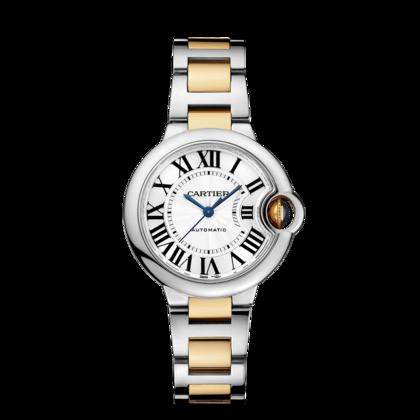 f0fc1d6f4e28 Reloj Ballon Bleu de Cartier - 33 mm Oro amarillo - Acero Oro ...