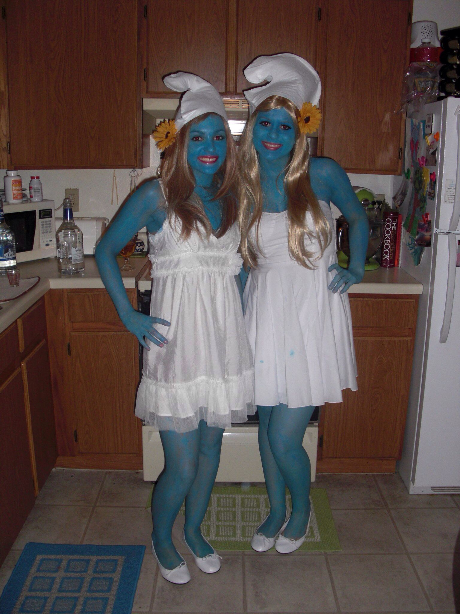 adult smurfette costume