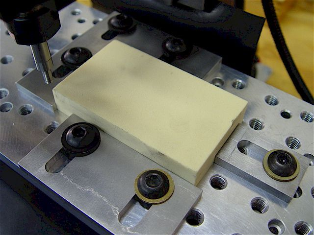 Tooling Plate With Low Profile Edge Clamps Get Out Of
