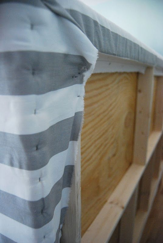reckless glamour: DIY Upholstered Headboard. | Nuevo Nidito ...