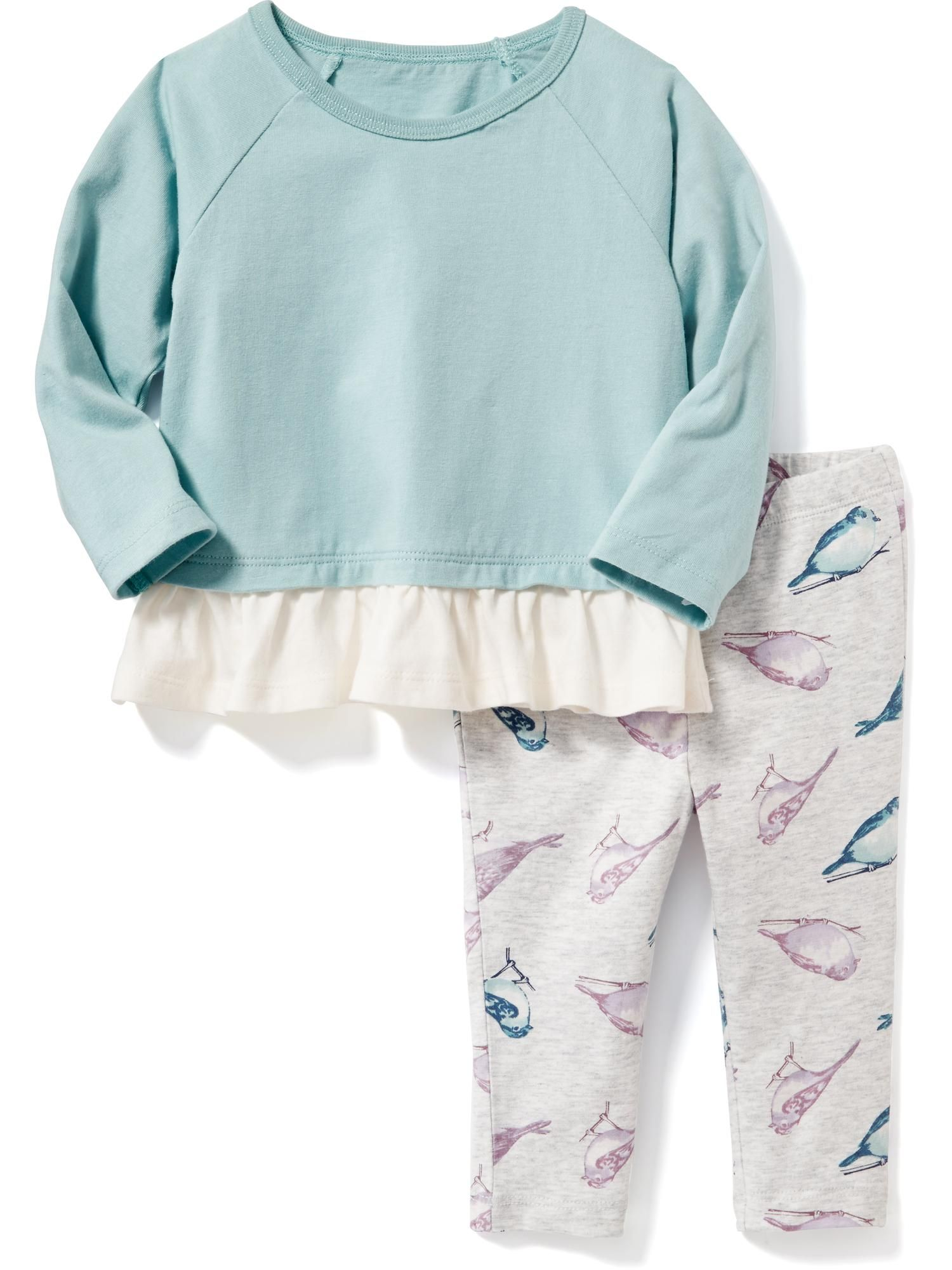 Patterned 2 Piece Set for Baby Old Navy birds