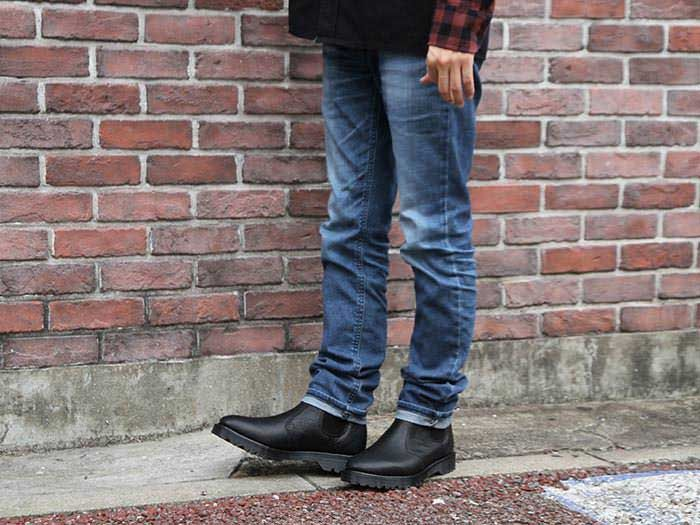 Dr.Martens(ドクターマーチン)CORE 2976 CHELSEA BOOT(16768001)BLACK INUCK